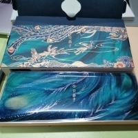 花西子百鸟朝凤浮雕彩妆盘